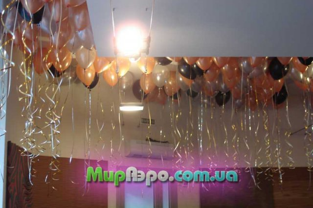 гелевые шарики на корпоративный праздник