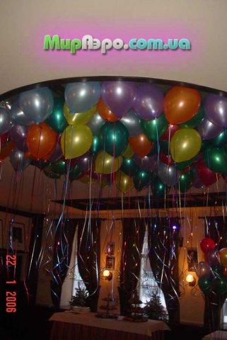 оформление корпоративов воздушными шариками