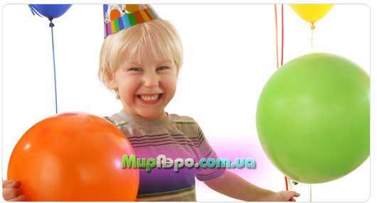 украшение детских праздников воздушными шариками