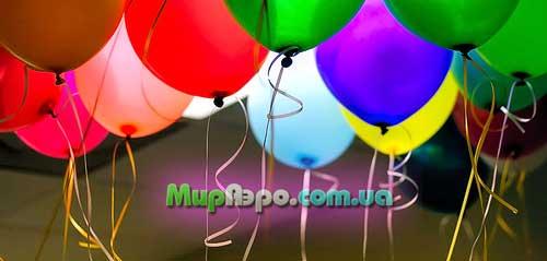Оформление воздушными шарами городских праздников