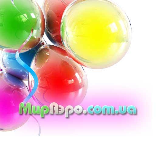 Оформление витрин магазинов воздушными шарами.