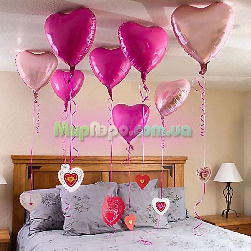 шары на день святого Валентина